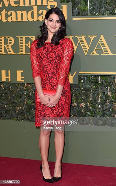 Natalie Dew attends the Evening Standard Theatre Awards at The Old Vic Theatre on November 22, 2015 in London, England.