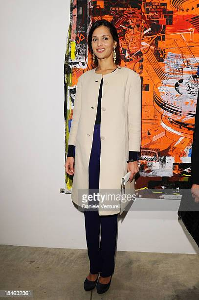 Natalie Dompe attends Cardi Black Box Gallery Present Nicolas Pol hosted by Nicolo Cardi And Vladimir Restoin Roitfeld at Cardi Black Box on October...