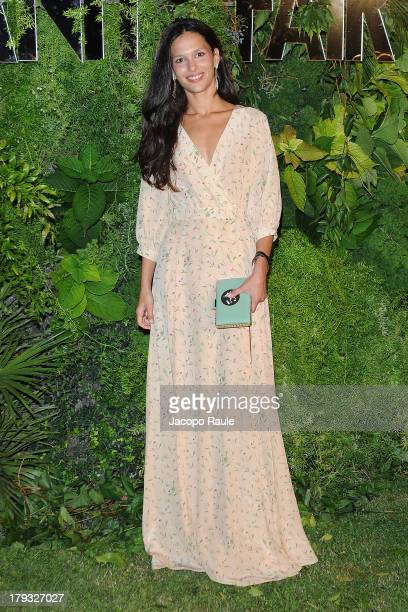 Natalie Dompe attends Vanity Fair Celebrate 10th Anniversary during the 70th Venice International Film Festival at Fondazione Giorgio Cini on...