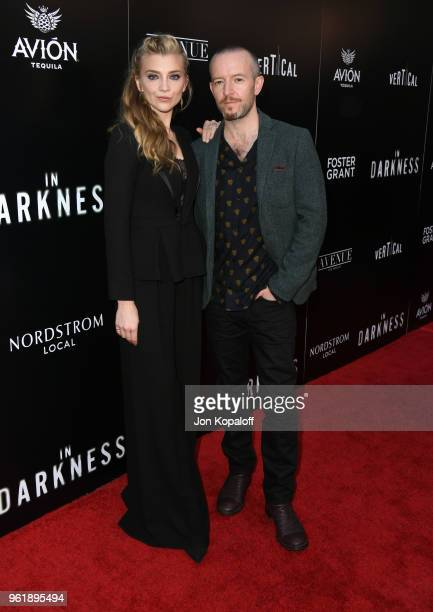 Natalie Dormer and Anthony Byrne attend the premiere of Vertical Entertainment's In Darkness at ArcLight Hollywood on May 23 2018 in Hollywood...