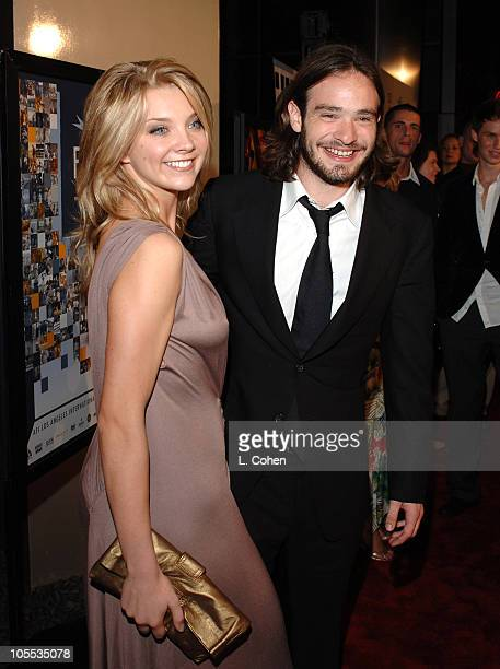 Natalie Dormer and Charlie Cox during AFI FEST 2005 Presented by Audi Closing Night Gala of Casanova Red Carpet in Los Angeles California United...