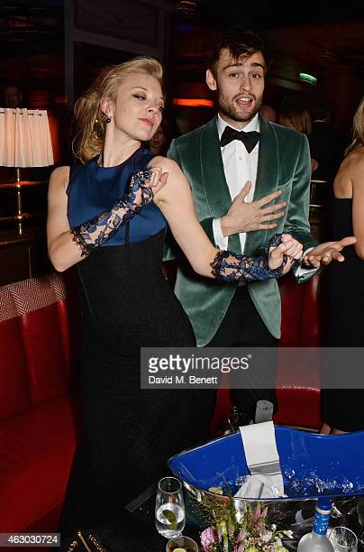 Natalie Dormer and Douglas Booth attend The Weinstein Company Entertainment Film Distributor StudioCanal 2015 BAFTA After Party in partnership with...