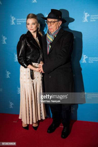 Natalie Dormer and festival director Dieter Kosslick attend the 'Picnic at Hanging Rock' premiere during the 68th Berlinale International Film...