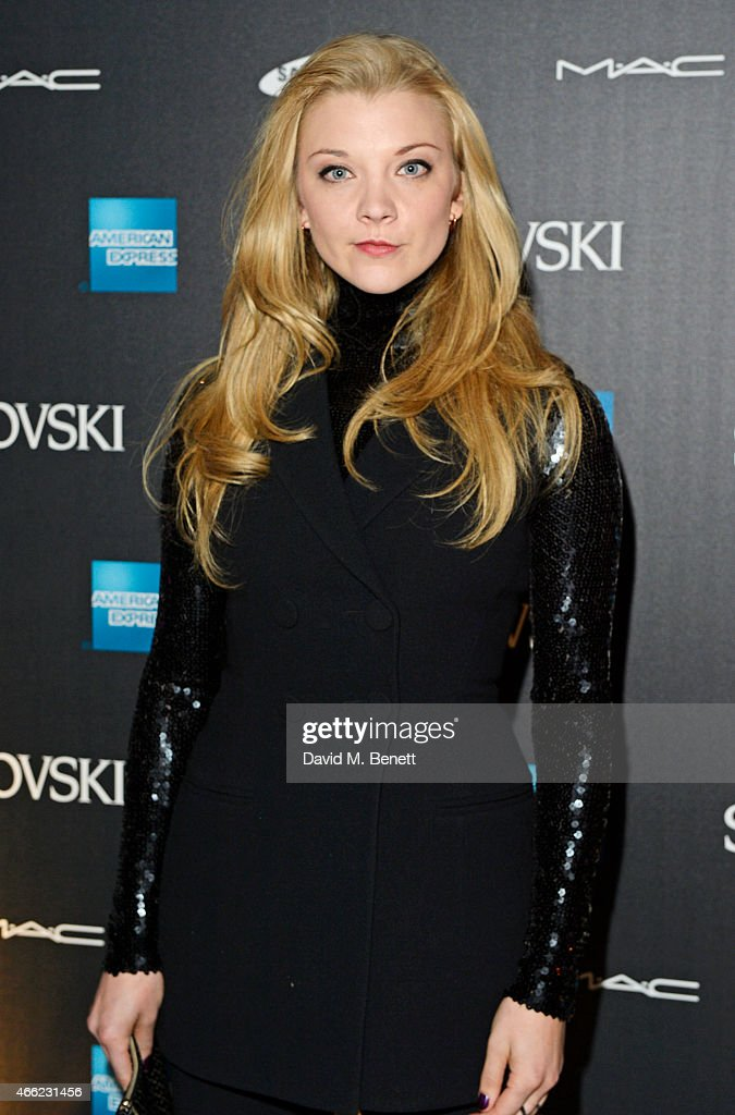 Natalie Dormer arrives at the Alexander McQueen: Savage Beauty VIP private view at the Victoria and Albert Museum on March 14, 2015 in London, England.