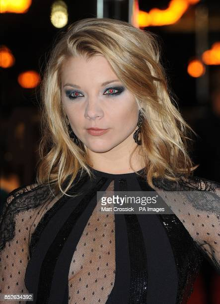 Natalie Dormer arriving for the World Premiere of The Hunger Games Catching Fire at the Odeon Leicester Square London
