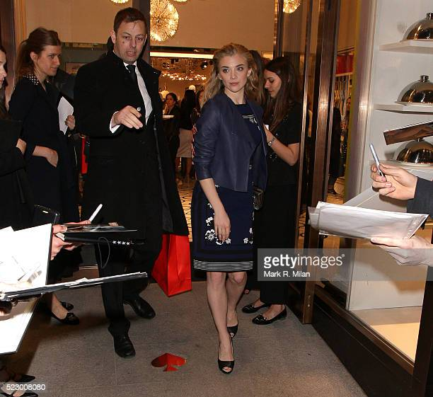 Natalie Dormer attending Kate Spade New York flagship store opening party on April 21 2016 in London England