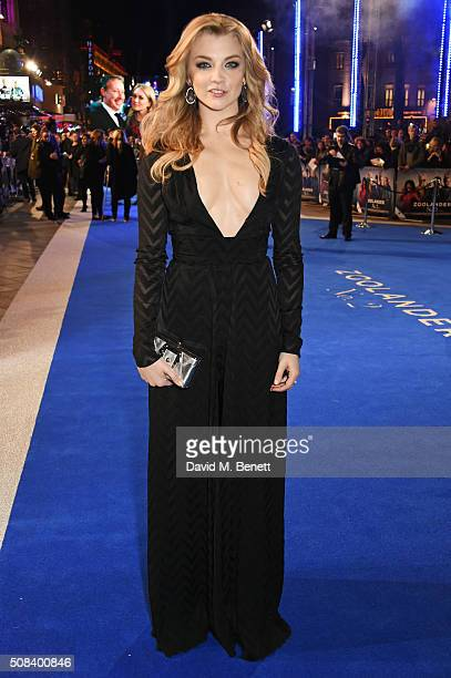 Natalie Dormer attends a Fashionable Screening of the Paramount Pictures film Zoolander No 2 at Empire Leicester Square on February 4 2016 in London...