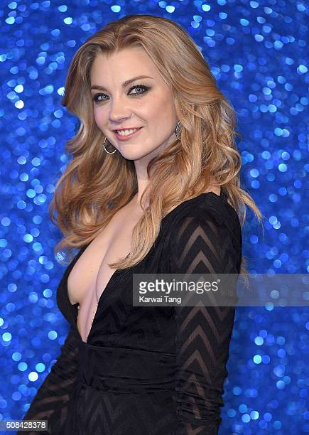 Natalie Dormer attends a London Fan Screening of the Paramount Pictures film Zoolander No 2 at Empire Leicester Square on February 4 2016 in London...