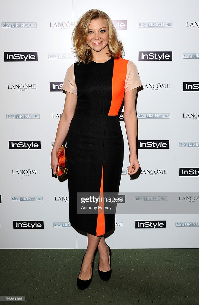 Natalie Dormer attends InStyle magazine's The Best of British Talent pre-BAFTA party at Dartmouth House on February 4, 2014 in London, England.