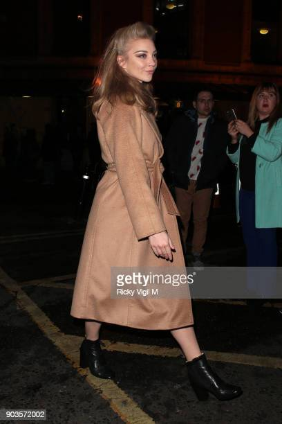 Natalie Dormer attends OVO by Cirque du Soleil at Royal Albert Hall on January 10 2018 in London England