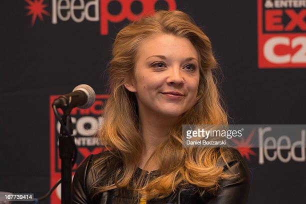 Natalie Dormer attends the 2013 Chicago Comic and Entertainment Expo at McCormick Place on April 28, 2013 in Chicago, Illinois.