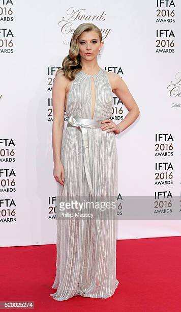 Natalie Dormer attends the 2016 IFTA Film Drama Awards at Mansion House on April 9 2016 in Dublin Ireland