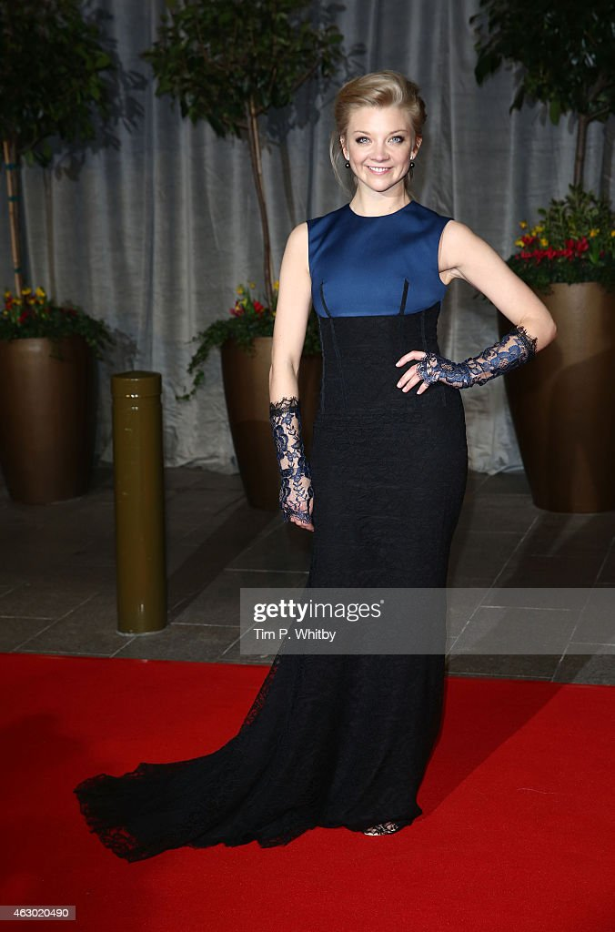 Natalie Dormer attends the after party for the EE British Academy Film Awards at The Grosvenor House Hotel on February 8, 2015 in London, England.