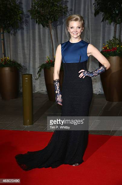 Natalie Dormer attends the after party for the EE British Academy Film Awards at The Grosvenor House Hotel on February 8 2015 in London England