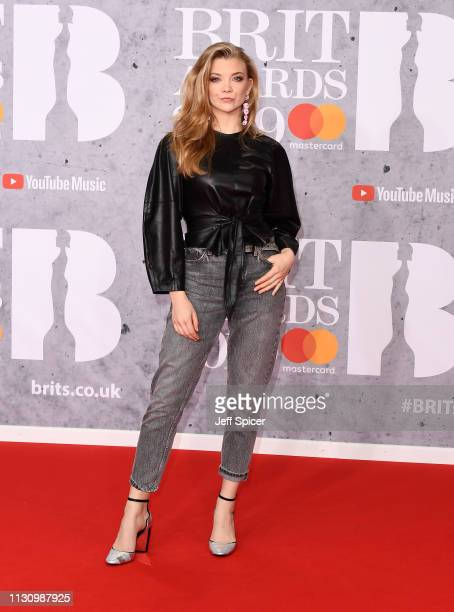 Natalie Dormer attends The BRIT Awards 2019 held at The O2 Arena on February 20 2019 in London England