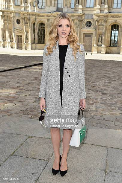 Natalie Dormer attends the Christian Dior show as part of the Paris Fashion Week Womenswear Spring/Summer 2015 on September 26 2014 in Paris France