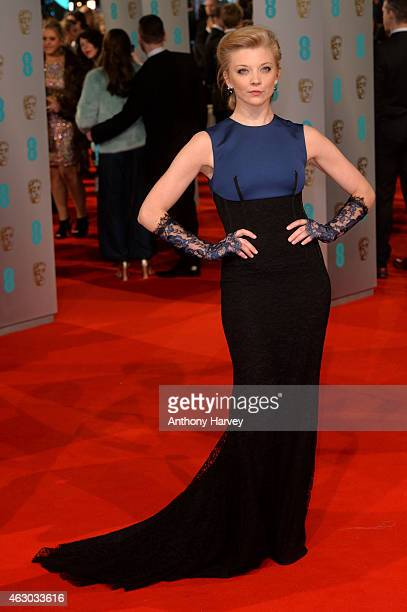 Natalie Dormer attends the EE British Academy Film Awards at The Royal Opera House on February 8 2015 in London England