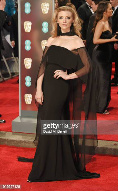 Natalie Dormer attends the EE British Academy Film Awards held at Royal Albert Hall on February 18 2018 in London England