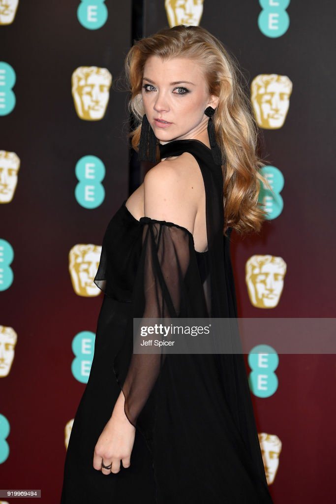 Natalie Dormer attends the EE British Academy Film Awards (BAFTA) held at Royal Albert Hall on February 18, 2018 in London, England.
