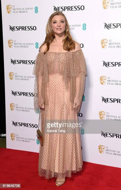 Natalie Dormer attends the EE British Academy Film Awards Nominees Party at Kensington Palace on February 17 2018 in London England