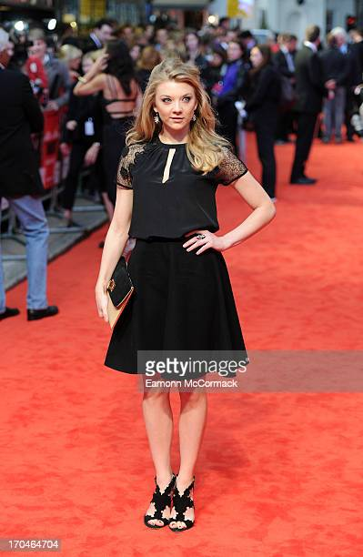 Natalie Dormer attends the gala screening of 'The Heat' at The Curzon Mayfair on June 13 2013 in London England