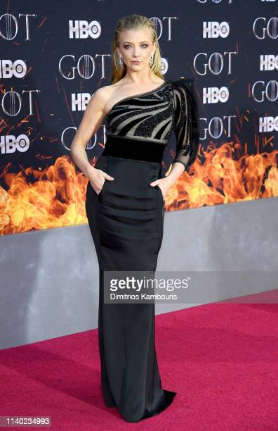 Natalie Dormer attends the Game Of Thrones Season 8 Premiere on April 03 2019 in New York City