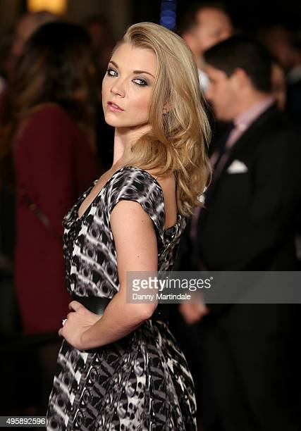 Natalie Dormer attends The Hunger Games Mockingjay Part 2 UK premiere at Odeon Leicester Square on November 5 2015 in London England