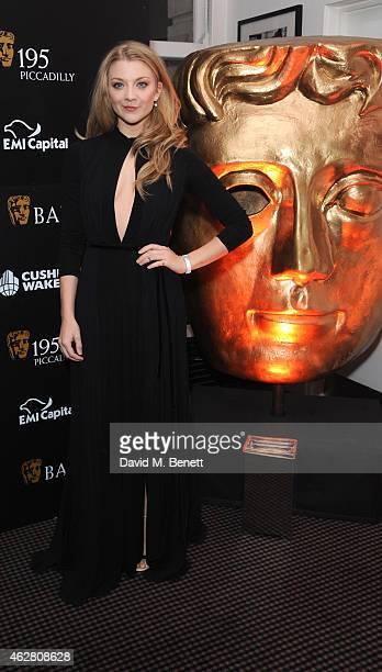 Natalie Dormer attends the inaugural BAFTA Film Gala Dinner raising funds for the 'Give Something Back' campaign at BAFTA on February 5 2015 in...