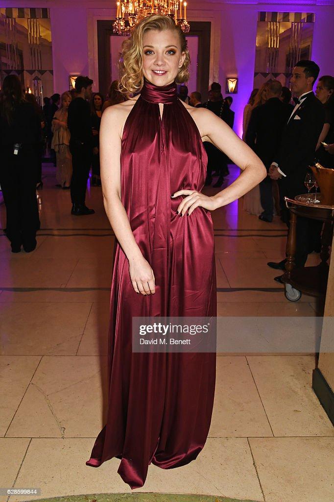 Natalie Dormer attends The London Evening Standard British Film Awards at Claridge's Hotel on December 8, 2016 in London, England.