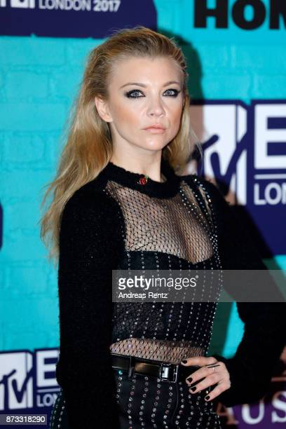 Natalie Dormer attends the MTV EMAs 2017 held at The SSE Arena Wembley on November 12 2017 in London England