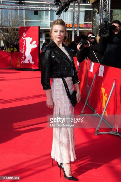 Natalie Dormer attends the 'Picnic at Hanging Rock' premiere during the 68th Berlinale International Film Festival Berlin at Zoo Palast on February...