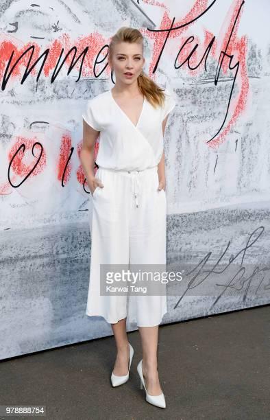 Natalie Dormer attends the Serpentine Gallery Summer Party at The Serpentine Gallery on June 19 2018 in London England