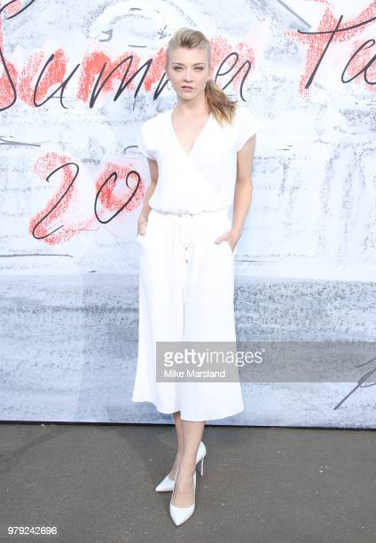 Natalie Dormer attends The Serpentine Summer Party at The Serpentine Gallery on June 19 2018 in London England
