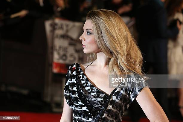Natalie Dormer attends the UK Premiere of The Hunger Games Mockingjay Part 2 at Odeon Leicester Square on November 5 2015 in London England