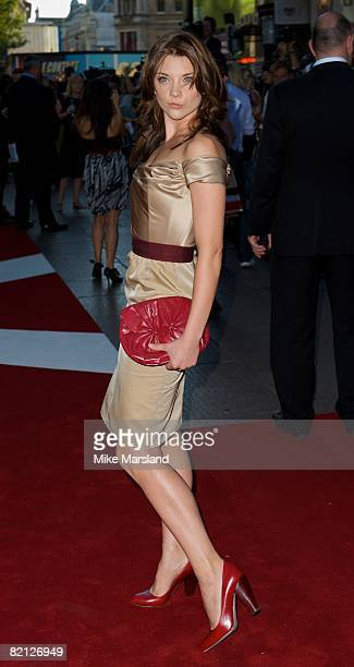 Natalie Dormer attends the UK premiere of The X-Files: I Want To Believe at Empire Leicester Square on July 30, 2008 in London, England.