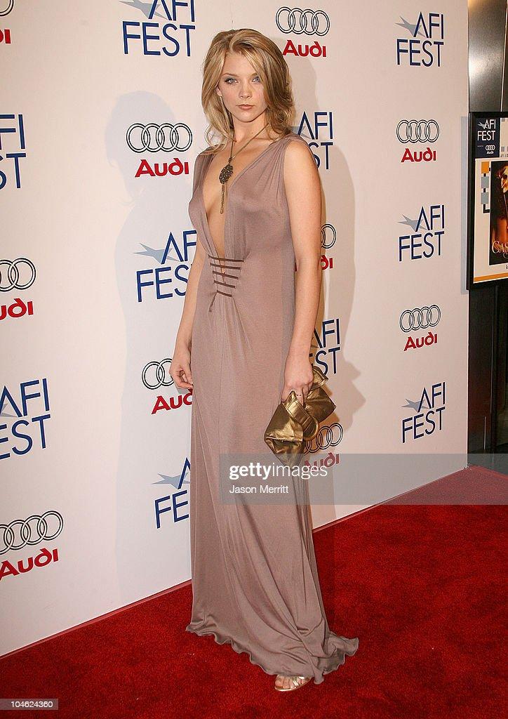 Natalie Dormer during AFI FEST 2005 Presented by Audi