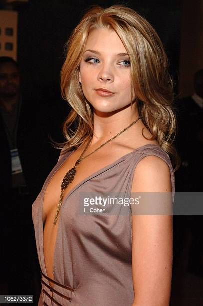Natalie Dormer during AFI FEST 2005 Presented by Audi Closing Night Gala of 'Casanova' Red Carpet in Los Angeles California United States