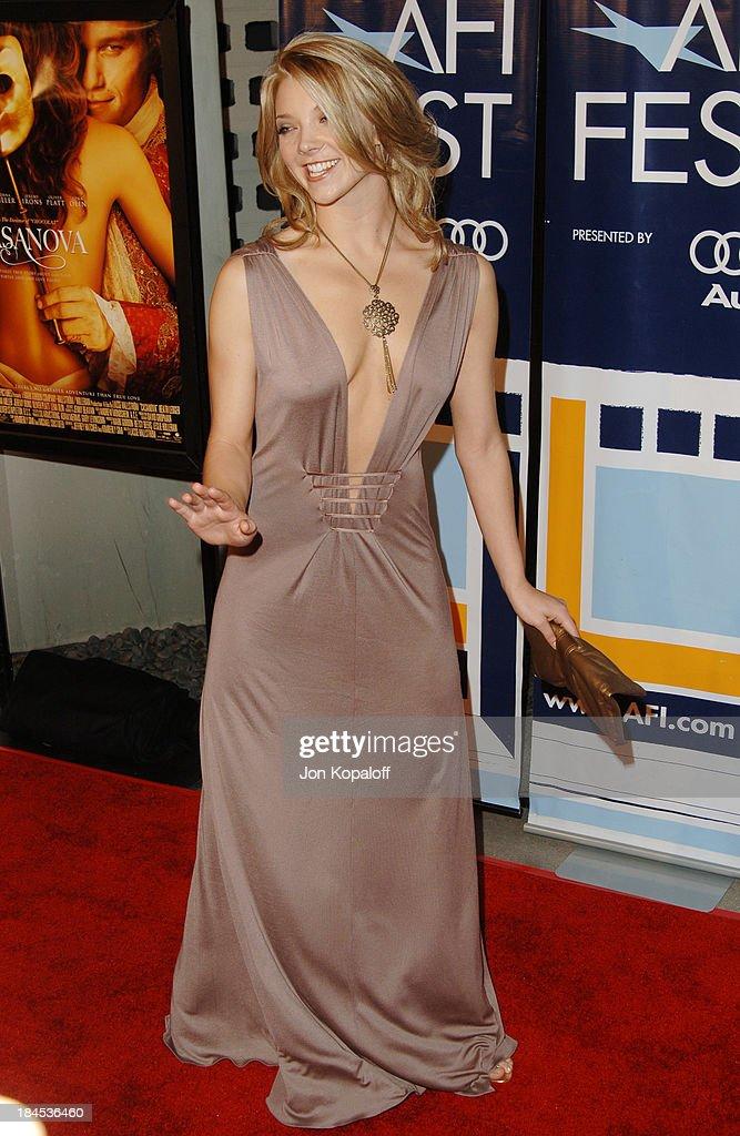 Natalie Dormer At Arrivals For Casanova Premiere Afi Fest