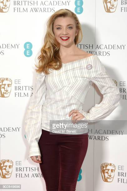 Natalie Dormer during The EE British Academy Film Award BAFTA nominations announcement at BAFTA on January 9 2018 in London England