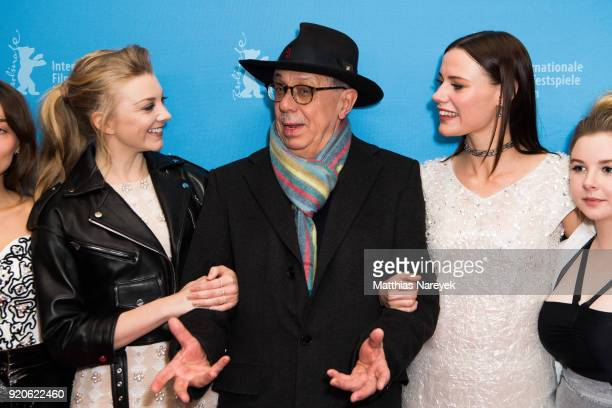 Natalie Dormer festival director Dieter Kosslick and Lily Sullivan attend the 'Picnic at Hanging Rock' premiere during the 68th Berlinale...