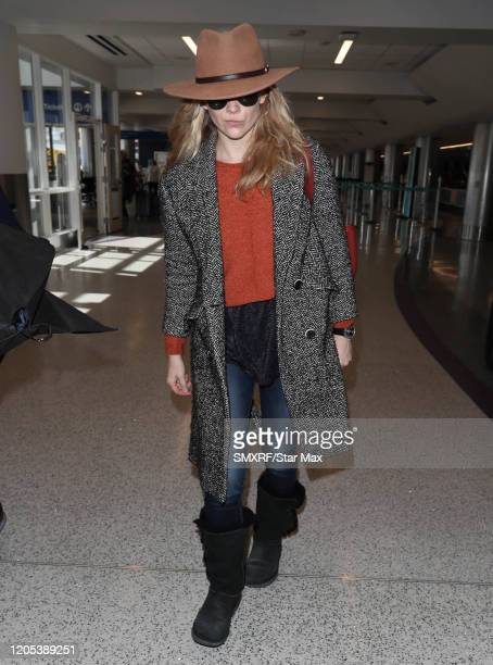 Natalie Dormer is seen on March 5, 2020 in Los Angeles, California.