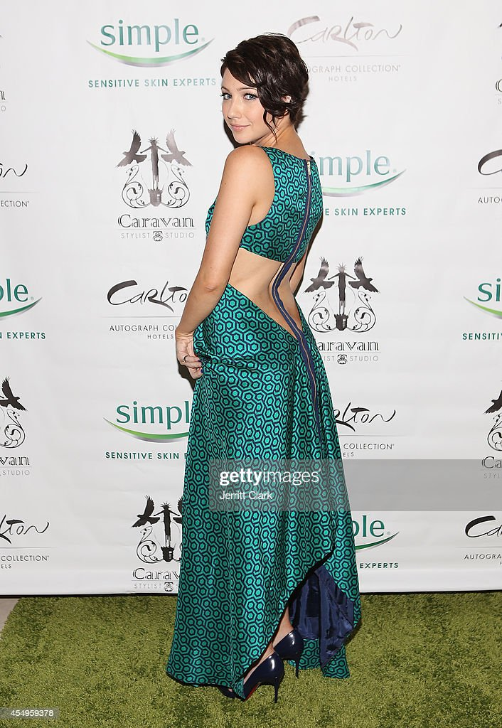 Simple Skincare & Caravan Stylist Studio Fashion Week Event : News Photo