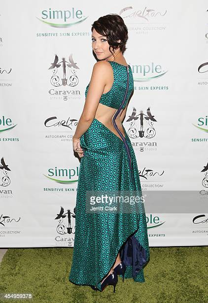 Natalie Dreyfuss attends the Simple Skincare Caravan Stylist Studio Fashion Week Event on September 7 2014 in New York City