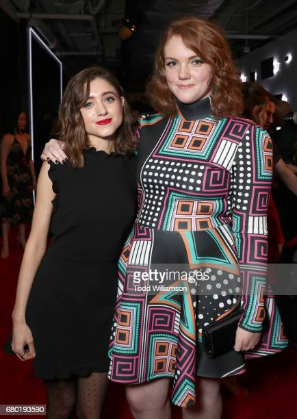 Natalie Dyer and Shannon Purser attend the Netflix FYSEE KickOff Event at Netflix FYSee Space on May 7 2017 in Beverly Hills California