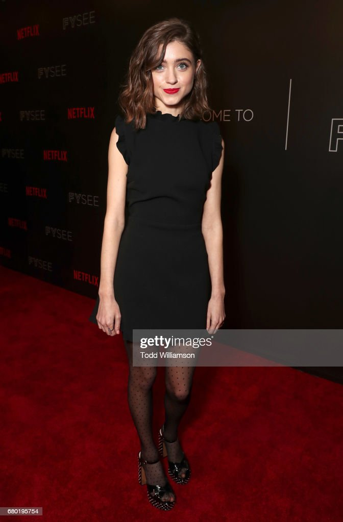 Natalie Dyer attends the Netflix FYSEE Kick-Off Event at Netflix FYSee Space on May 7, 2017 in Beverly Hills, California.
