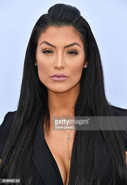 Natalie Eva Marie arrives at the The Hollywood Reporter's 25th Annual Women In Entertainment Breakfast at Milk Studios on December 7 2016 in...