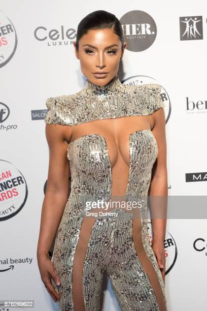 Natalie Eva Marie attends the American Influencer Award at The Novo by Microsoft on November 18 2017 in Los Angeles California