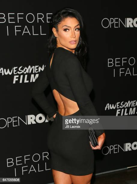 Natalie Eva Marie attends the premiere of Open Road Films' 'Before I Fall' on March 01 2017 in Los Angeles California