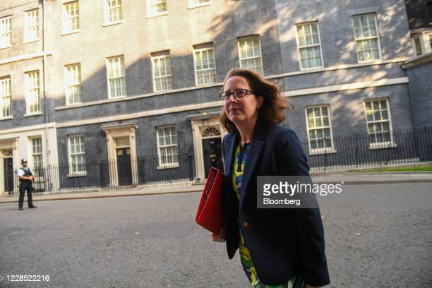 Natalie Evans, leader of the House of Lords, arrives for a meeting of cabinet ministers in London, U.K., on Tuesday, Sept. 15, 2020. U.K. Prime...