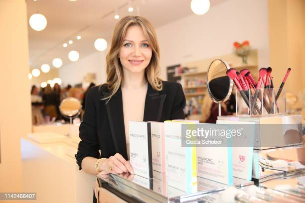 Natalie Franz during the Zalando Beauty Pop-Up Event on May 9, 2019 in Munich, Germany.